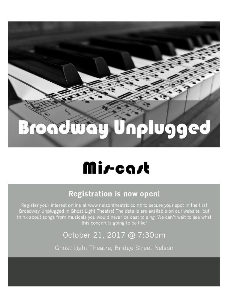 Broadway unplugged miscast poster-page-001